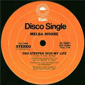 Melba Moore - You Stepped Into My Life / There's No Other Like You