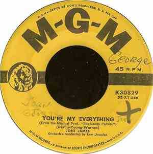 Joni James - You're My Everything / You're Nearer