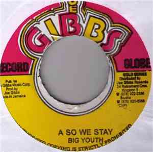 Big Youth - A So We Stay