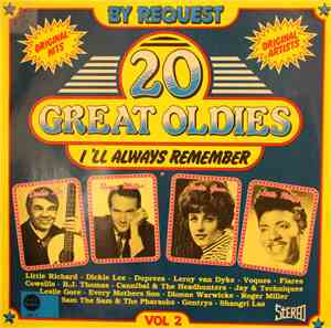 Various - 20 Great Oldies I'll Always Remember Vol. 2