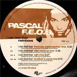 Pascal F.E.O.S. - I Can Feel That (Remixes)