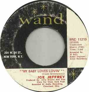 Joe Jeffrey - My Baby Loves Lovin'