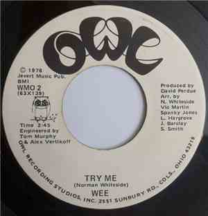 Wee - Try Me / Teach Me How