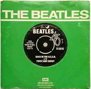 The Beatles - Back In The USSR / Twist And Shout