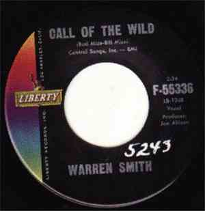 Warren Smith  - Call Of The Wild / Old Lonesome Feeling